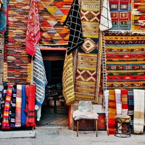 Guided tour of souks in Marrakech Medina