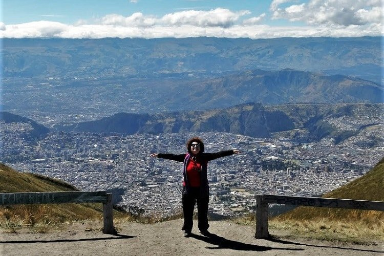 Tour of heights in Quito