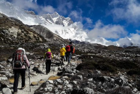 Expedición al campamento base del Everest