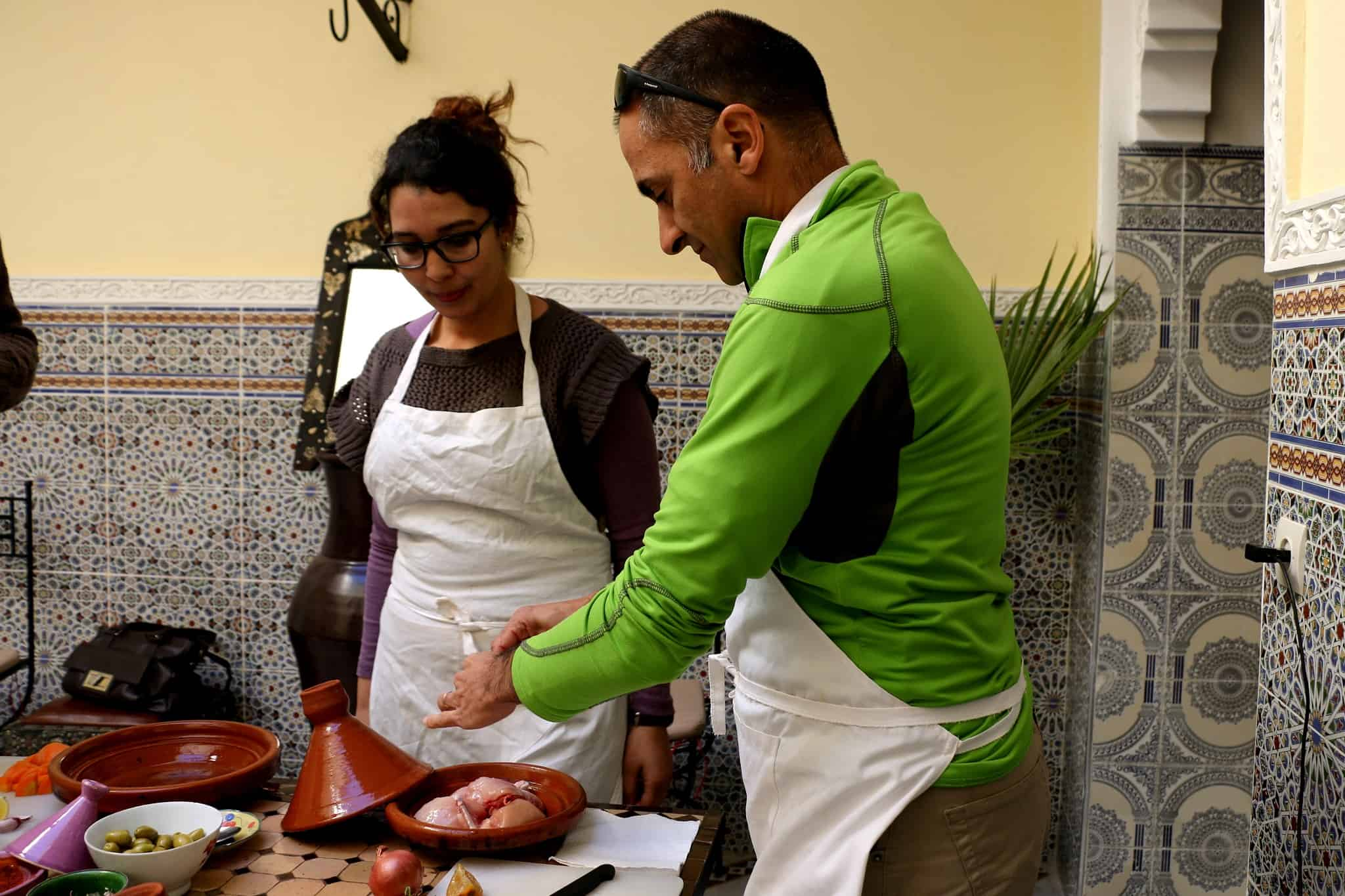 Cooking class experience in Fez